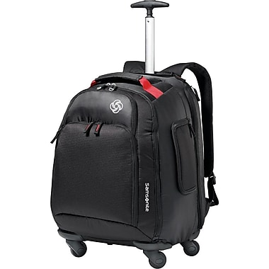 samsonite sac dos mvs pour ordinateur portable de 15 6 po avec roulettes noir staples. Black Bedroom Furniture Sets. Home Design Ideas