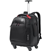 "Samsonite 15.6"" MVS Spinner Laptop Backpack, Black"