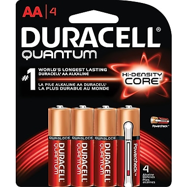 Duracell® – Piles alcalines AA Quantum
