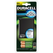 Duracell® Battery Charger with 2AA & 2AAA Rechargeable Batteries