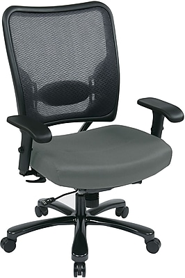 Office Star Space® Gunmetal Big & Tall Office Chair, Gray
