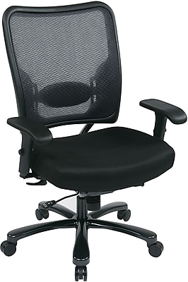 Office Star Space® 75-7A773-231 Task Office Chair, Gunmetal Black