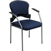 Office Star Proline II® Fabric Guest Chair, Navy