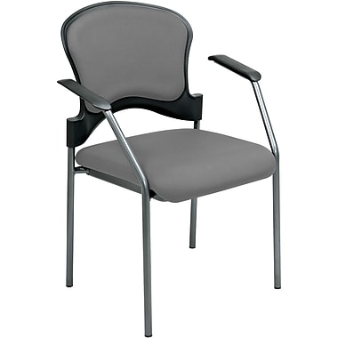 Office Star Proline II® Fabric Guest Chair, Gray