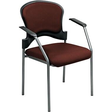 Office Star Proline II® Fabric Guest Chair, Burgundy