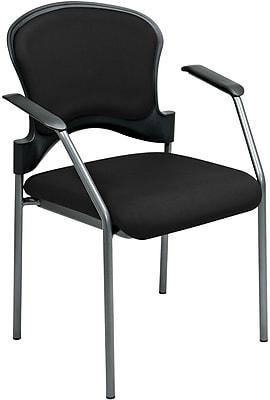 Office Star Proline II® Fabric Guest Chair, Black