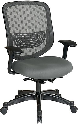 Office Star Duragrid Back/Padded Mesh Seat Chair