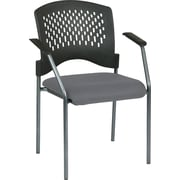 Office Star Proline II Metal Guest Chair, Gray (8610-226)