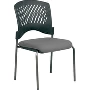 Office Star Proline II Metal Visitors Chair, Gray (8620-226)