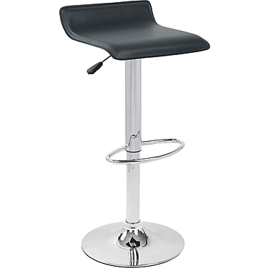 LumiSource BS-TW-ALE BK Bar Stool, Black