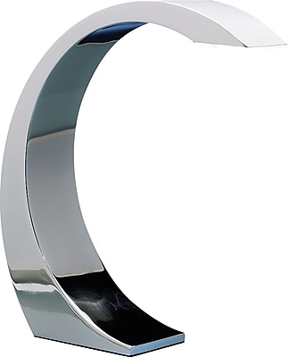Lumisource Element Touch LED Desk Lamp, Chrome