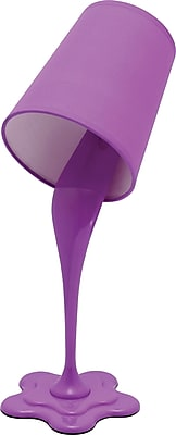 Awesome Lumisource Woopsy Table Lamp, Purple