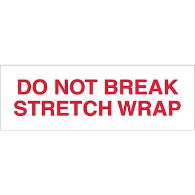 Tape Logic® Pre-Printed Carton Sealing Tape,