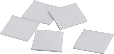 Tape Logic Removable Double Sided Foam Square, 648/Case