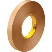 "3M™ 1/2"" x 72 yds. Double Coated Film Tape 9425, Clear, 2/Pack"