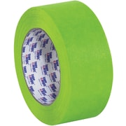 "Tape Logic™ 1"" x 60 yds. Painters Tape, Green, 12/Case"