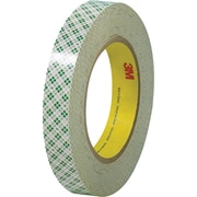 "3M™ 1/2"" x 36 yds. Double Sided Masking Tape 410M, Natural, 3/Pack"