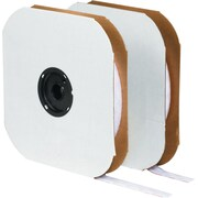 Velcro 1/2 inch x 75' Individual Strips Velcro Tape, Hook, White by