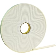 "3M™ 1/2"" x 72 yds. Double Coated Polyethylene Foam Tape 4462, White, 1/Pack"