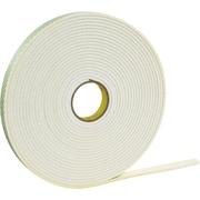 "3M™ 1/2"" x 36 yds. Double Coated Foam Tape 4466, White"