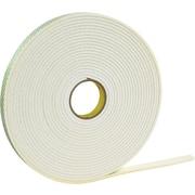 "3M™ 1"" x 36 yds. Double Coated Foam Tape 4466, White"