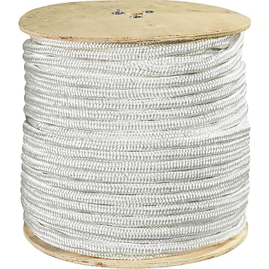 BOX 14500 lbs. Double Braided Nylon Rope, 600'