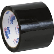 "Tape Logic™ 3"" x 55 yds. Black Carton Sealing Tape, 24/Case"