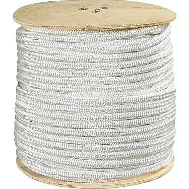 BOX 6500 lbs. Double Braided Nylon Rope, 600'