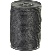 BOX 1150 lbs. Solid Braided Nylon Rope, Black, 500'
