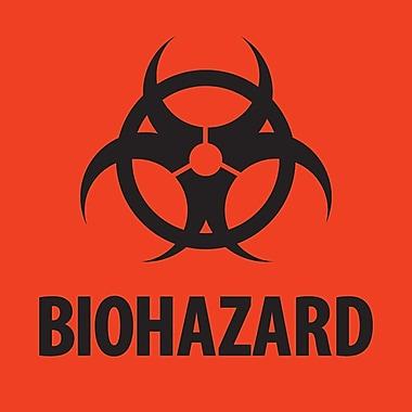 Tape Logic™ Biohazard Regulated Label, 2
