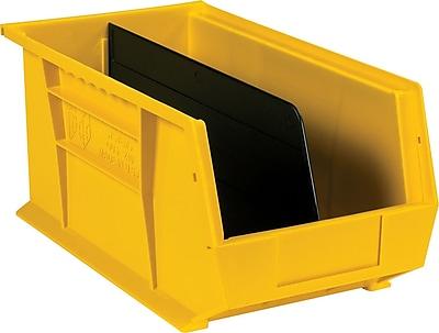 BOX Black Stack and Hang Bin Divider, 13 15/16