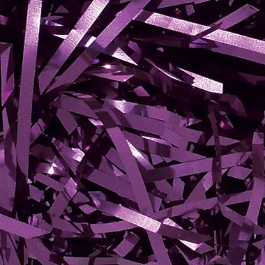 PreciousMetal™ 10 lbs. Metallic Shreds, Purple, 10 Lbs/Case