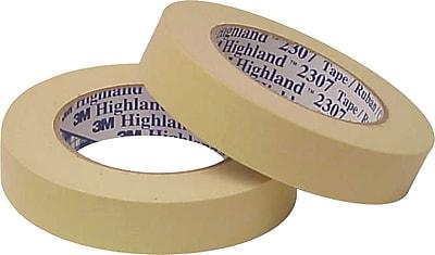 Universal General-Purpose Masking Tape, 24 mm x 54.8 m, Beige, 3/Pack (UNV51301) UNV51301