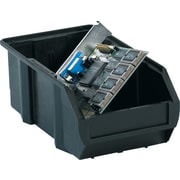 "BOX 7 3/8"" x 4 1/8"" x 3"" Conductive Bin, Black"