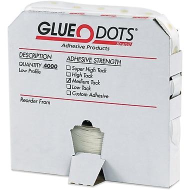 Glue Dots®, Medium Tack, Low Profile, 1/4
