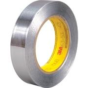 """3M™ 1"""" x 60 yds. Aluminum Foil Tape 425, Silver, 36 Rolls, 36/Case"""