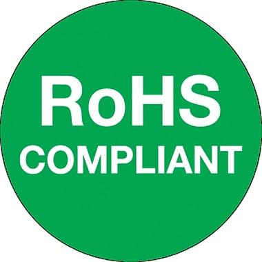 Tape Logic™ RoHS Compliant Regulated Label, 1