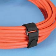 "Velcro® 1"" x 18"" Cinch Strap, 25/Pack, Black"
