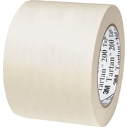 "3M™ 200 Masking Tape, 4"" x 60 yds., Natural, 8/Case"