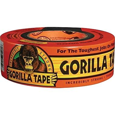Gorilla® Duct Tape, 2in. x 35 yds., Black, 1/Case