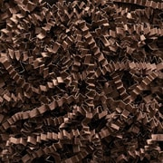 BOX 10 lbs. Crinkle Paper, Chocolate