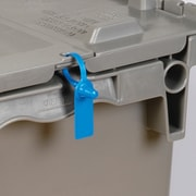 "BOX 5"" Plastic Gemini Tote Seal, Blue"