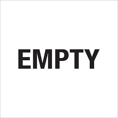 Tape Logic™ Empty Regulated Label, 6