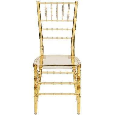 Flash Furniture 20/Pack Elegance Crystal Resin Stacking Chiavari Chairs