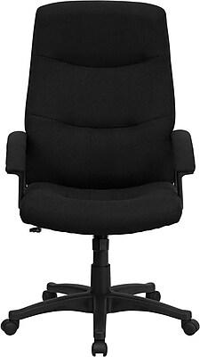 Flash Furniture Nylon Conference Chair, Black (BT-134A-BK-GG)