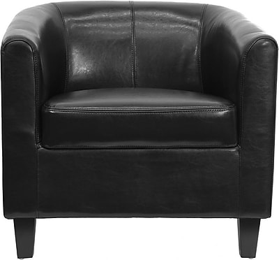 Flash Furniture Hardwood Guest/Reception Chair, Black (BT-873-BK-GG)