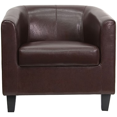 Flash Furniture Hardwood Guest/Reception Chair, Brown (BT-873-BN-GG)