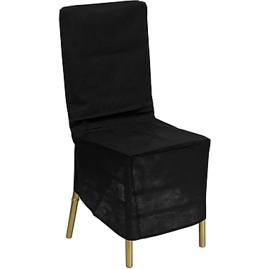 Flash Furniture Fabric Chiavari Chair Storage Cover, Black