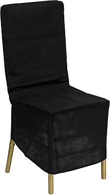 Flash Furniture Fabric Chiavari Chair Storage Cover, Black