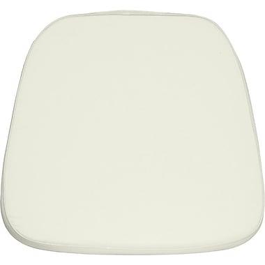 Flash Furniture – Coussin en tissu souple pour chaise style Chiavari, ivoire